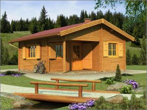 Srubová rekreační chata ANDREA 64