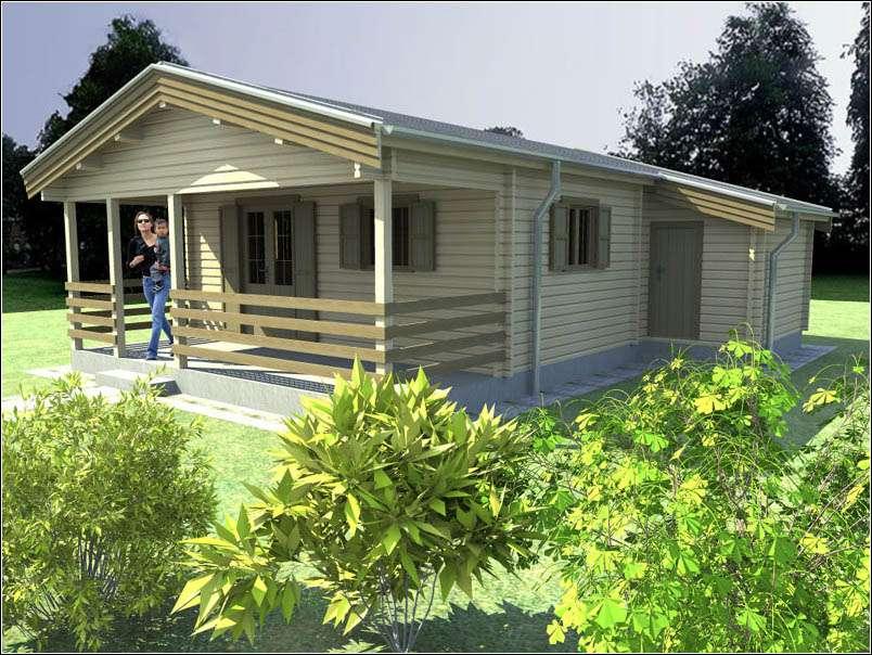 Dřevěná chata HELENA