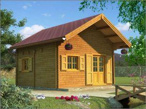 Srubová rekreační chata ZITA 64