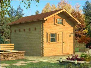 Dřevěná chatka POHODA 2 s podkrovím
