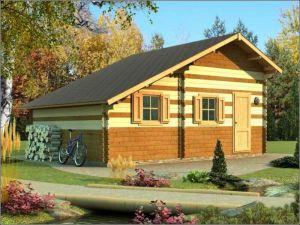 Dřevěná chata POHODA 3 s galerií