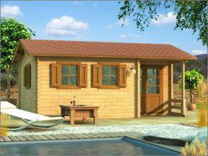 Dřevěná chata VÍKEND 1