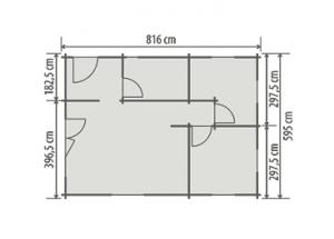 Rekreační chata PAVLA 80, obytná dřevostavba , srub , srubová chata Výrobce 3