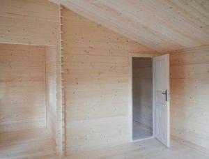 Interiér po zateplení stropu zespoda
