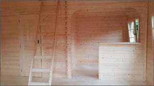 Srubová chata Alpina - interiér