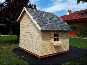 Dětský hrací domeček TOM. Dřevěný domek pro děti TOM. Zahradní domek TOM. Výrobce 3