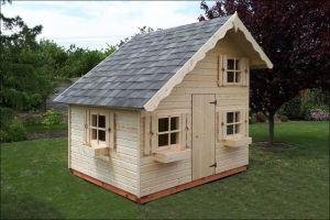 Dětské dřevěné domečky