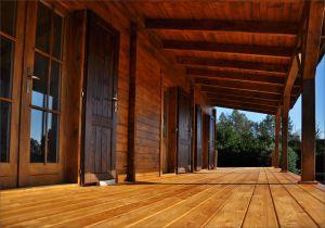 Srubová rekreační chata New Lagos, dřevostavba pro celoroční rekreaci, srub Lagos Výrobce 1