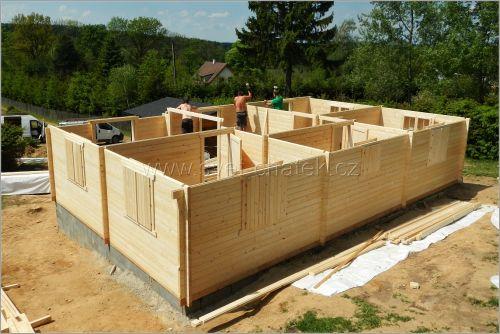 Montáže dřevostaveb