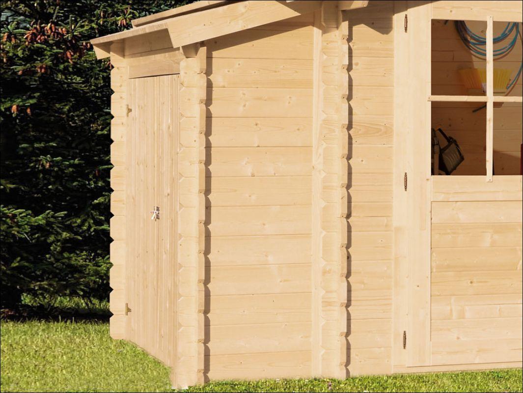 Přístavek, přístavba k zahradní chatce Diana