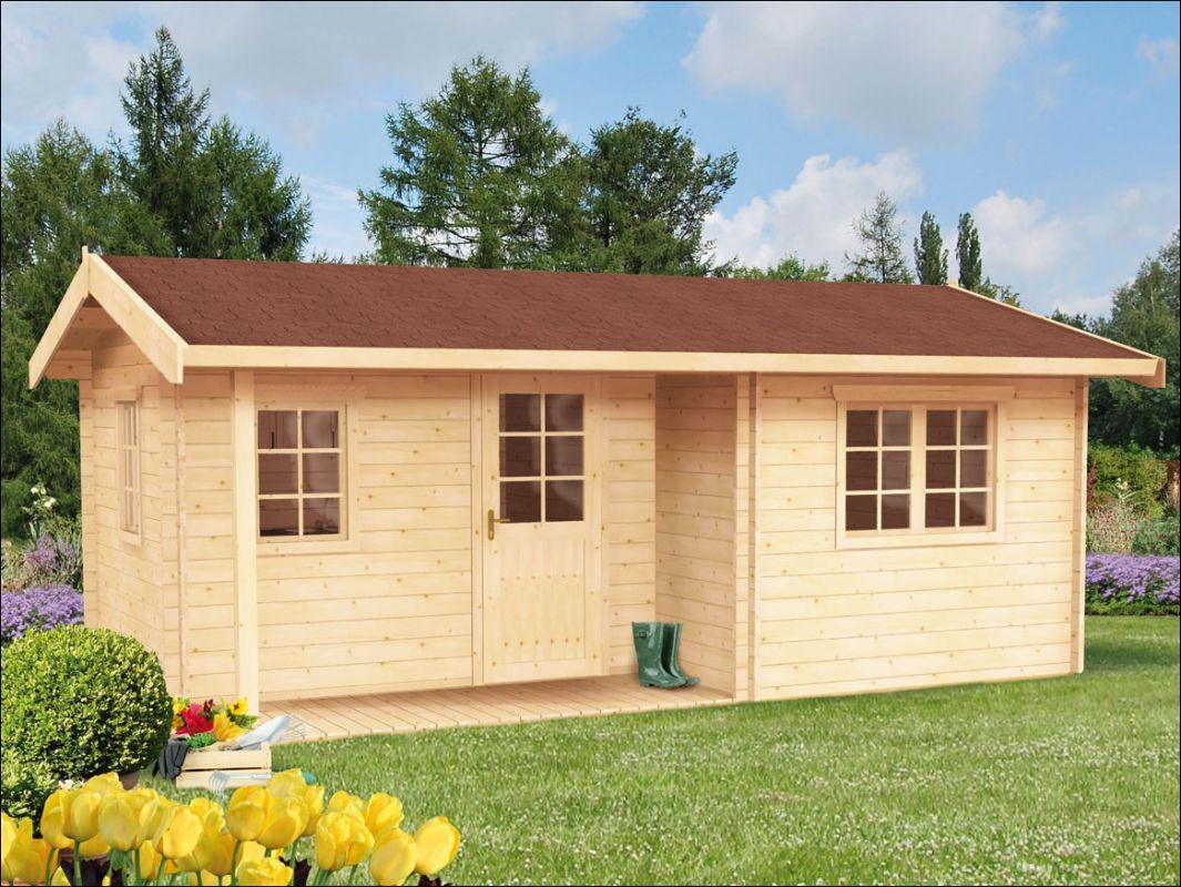 Srubová zahradní chata, dřevěná zahradní chatka