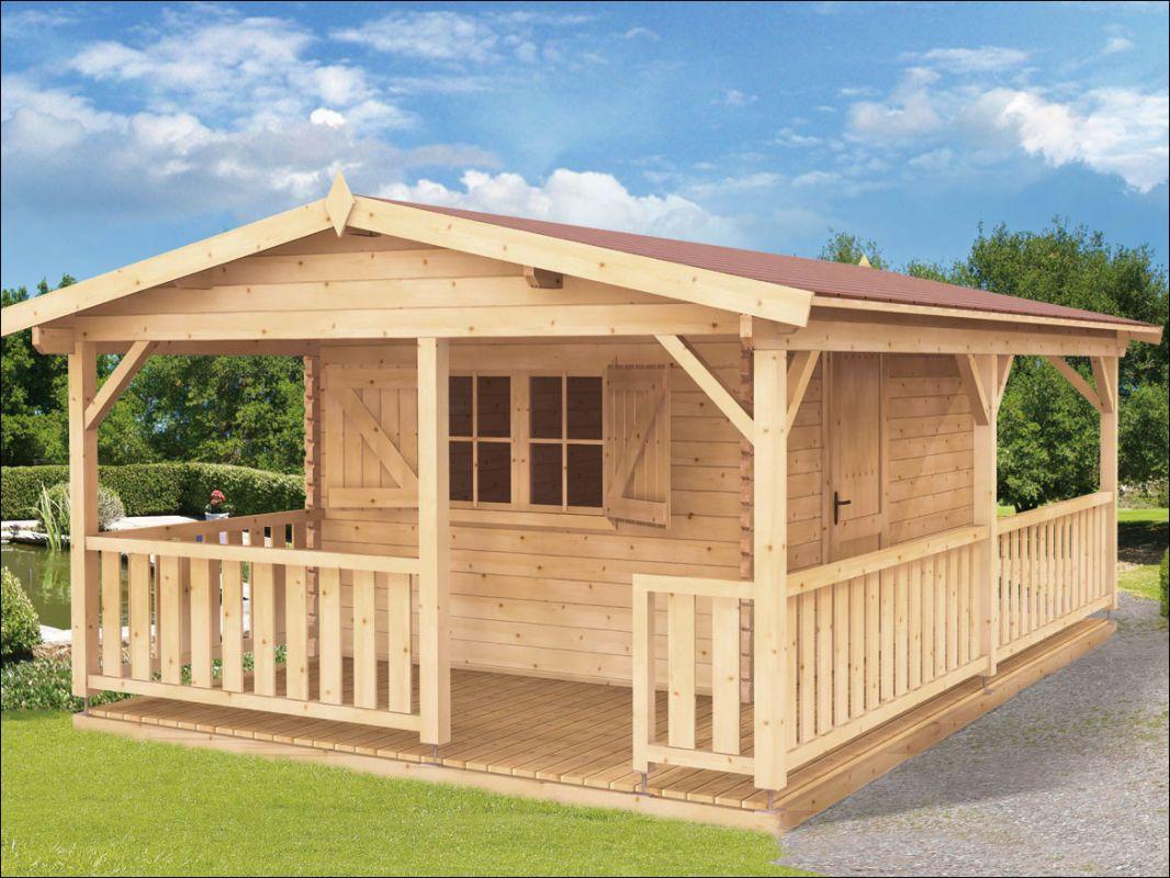 Srubová zahradní chata AGÁTA 40, dřevostavba, zahradní domek, dřevěná víkendová chatka Výrobce 3