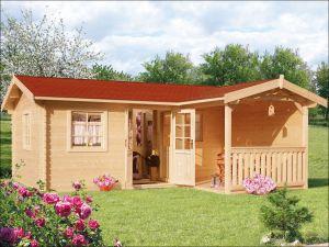 Srubová zahradní chata CARMEN 2A 40