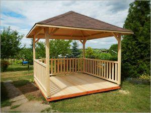 Zahradní altán dřevěný