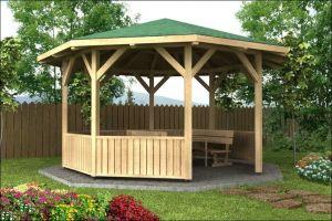 Dřevěné zahradní altány