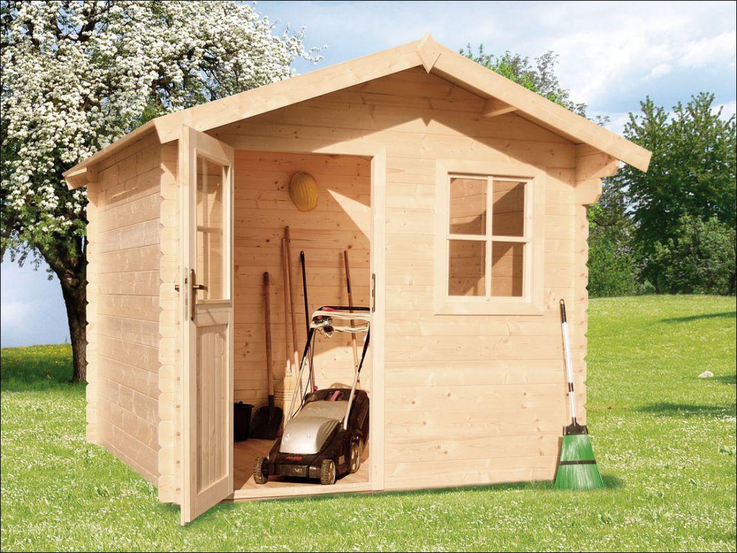 Zahradní domek, zahradní chatka, dřevěná chatka
