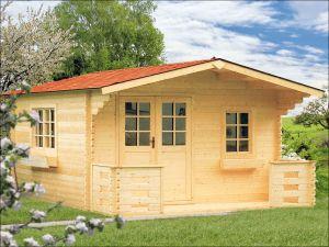 Zahradní domek ERIKA 40 s terasou
