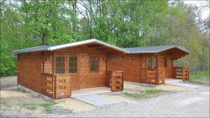 Dřevěná chata srubová
