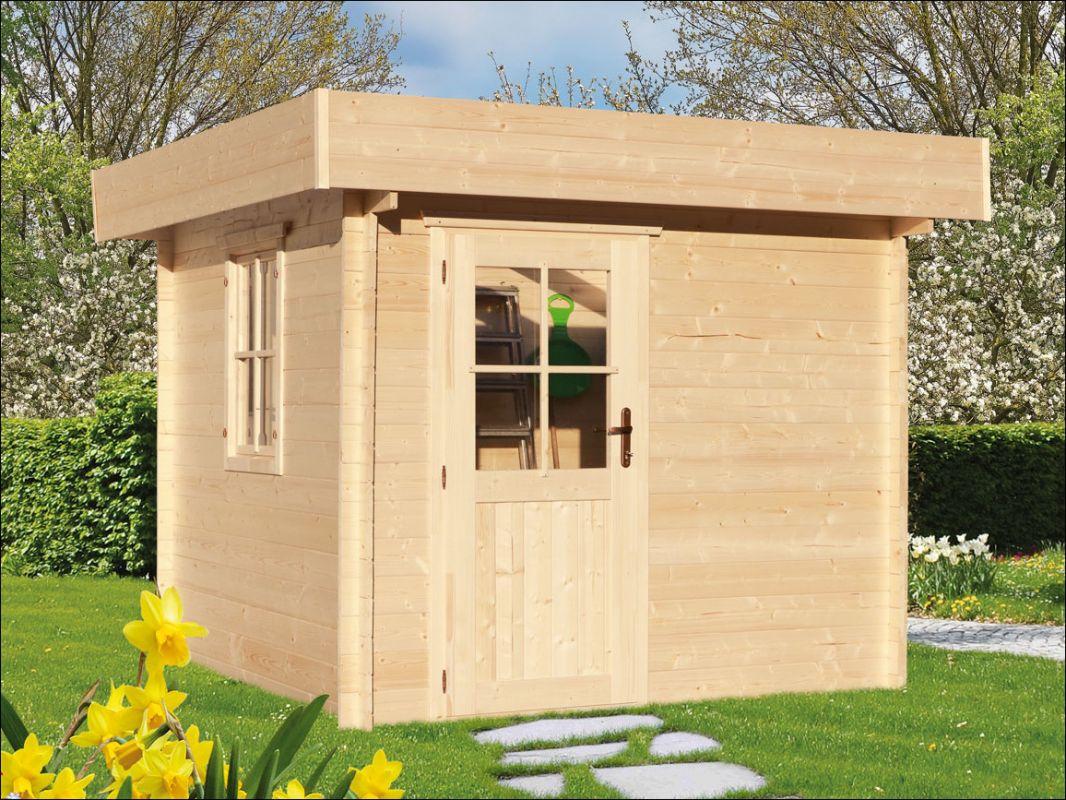 Moderní zahradní chatka