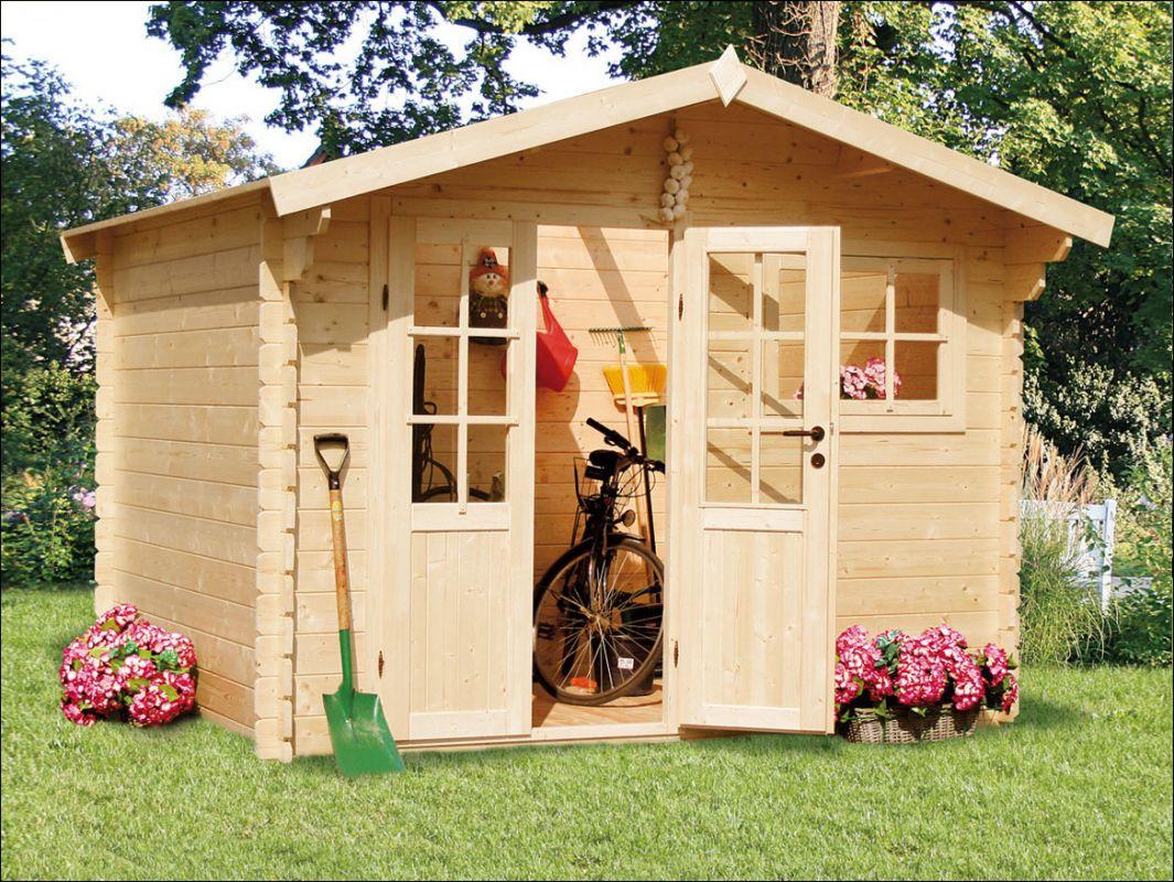 Zahradní domek, zahradní chatka, dřevěná chatka na zahradu