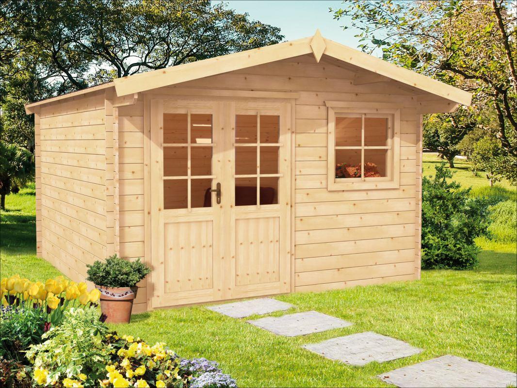 Zahradní chatka, zahradní domek, dřevěná chatka