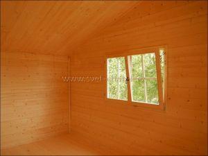 Interiér (tepelně izolovaný strop)