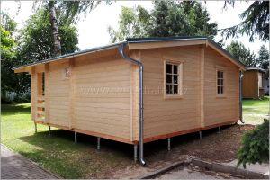 Srubová chata, dřevostavba Deny