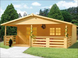 Zahradní srubová chata HANA 70