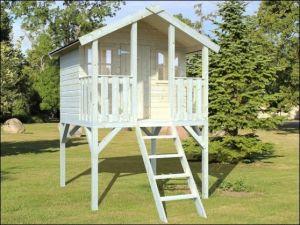 Dětský dřevěný domek, zahradní domek pro děti Toby