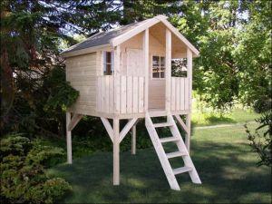 Dřevěný dětský domeček TOBY