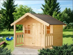 Dřevěný dětský domeček FELIX