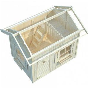 Dětský zahradní domek, dřevěný domek pro děti
