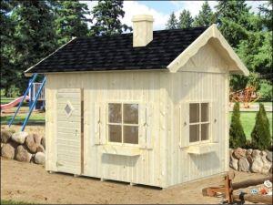 Dřevěný dětský domeček GERTA