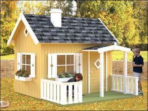 Dřevěný dětský domeček ODO