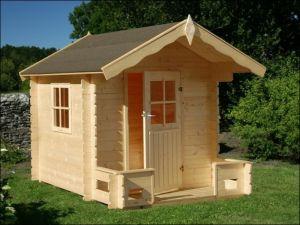Dřevěný dětský domeček SAM