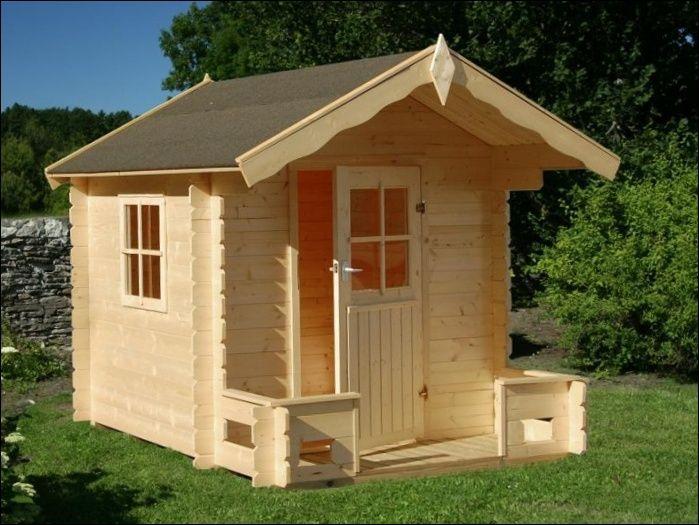 Dětský dřevěn domek SAM, dětský domek na zahradu