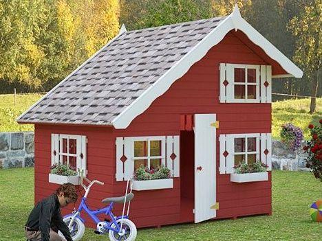Dětský domek Tom, dřevěný domek pro děti