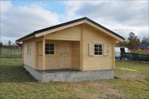 Jonáš 80 - srubová rekreační chata