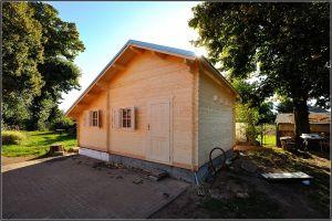 Srubová zahradní chata Pohoda 3 s galerií