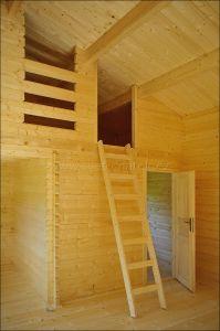 Víkendová chata LIBOR 2 s patrem na spaní,síla stěny 50 mm, dřevěná chata,zahradní chata, srubová chata, dřevostavba Výrobce 3