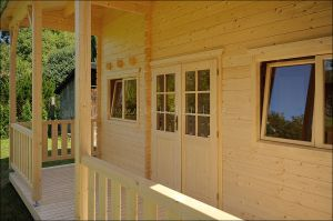 Srubová zahradní chata Libor 2 s galerií
