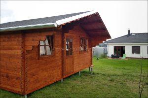 Srubová chatka, zahradní chata