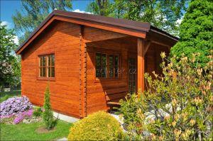 Srubová zahradní chata, dřevěná chata na zahradu