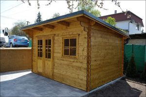 Zahradní domek, zahradní chatka, dřevěný domek, dřevěná chatka