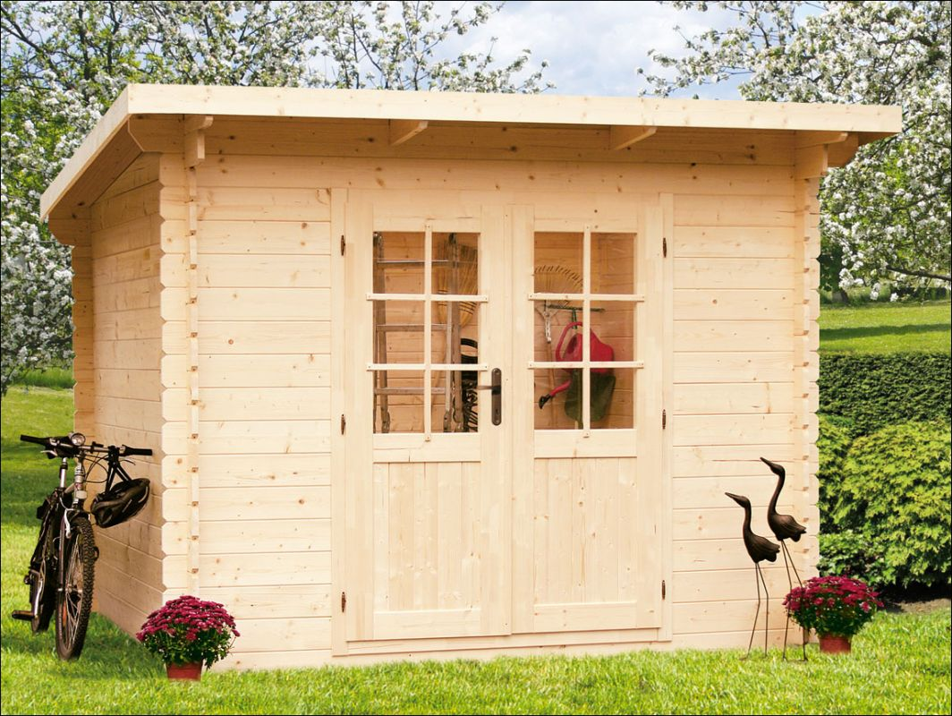 Zahradní domek, zahradní chatka, dřevěná chatka na nářadí