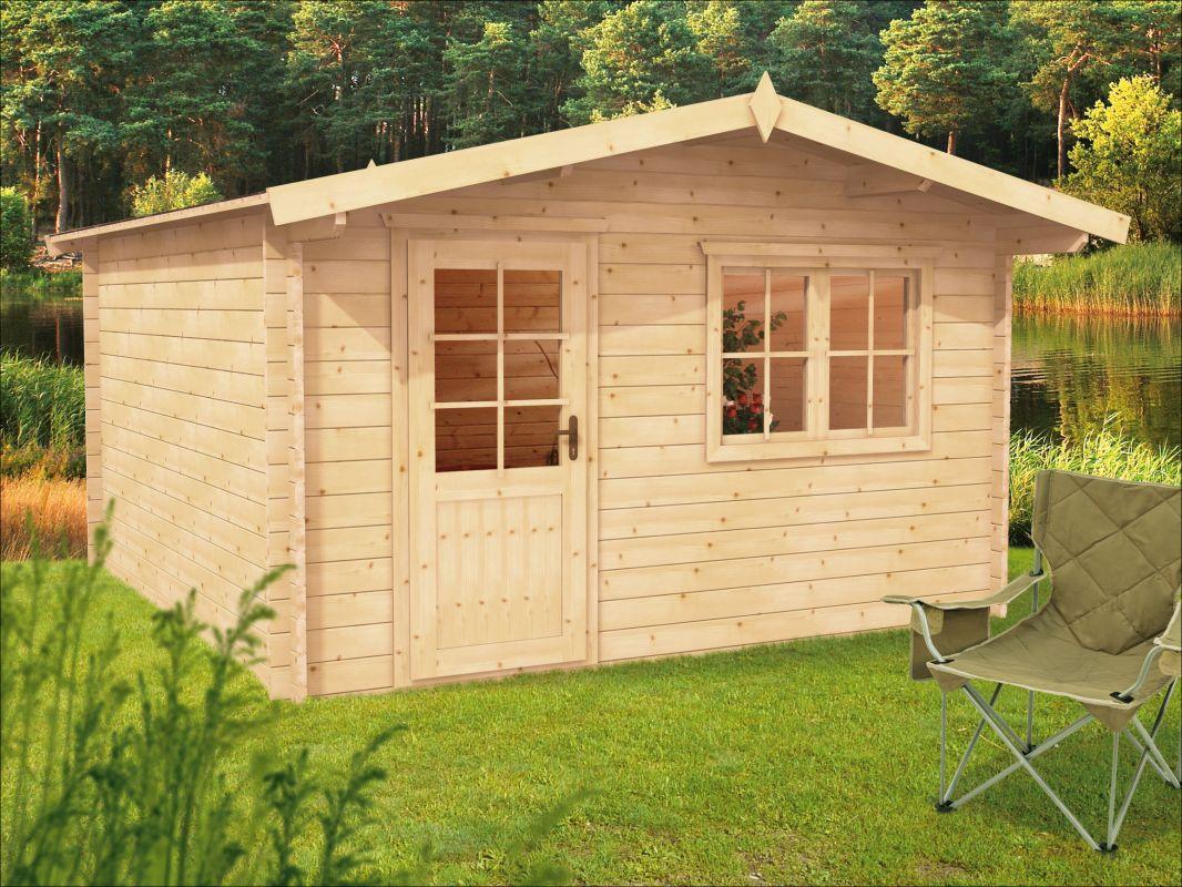 Zahradní chatka, srubová chatka, dřevěná chata Julie
