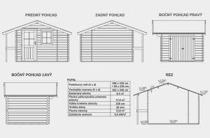 ALICE, zahradní domek, zahradní chatka, domek na zahradu, chatka na nářadí. Výrobce 3