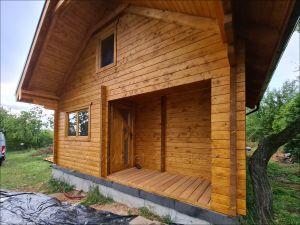 Srubová rekreační chata