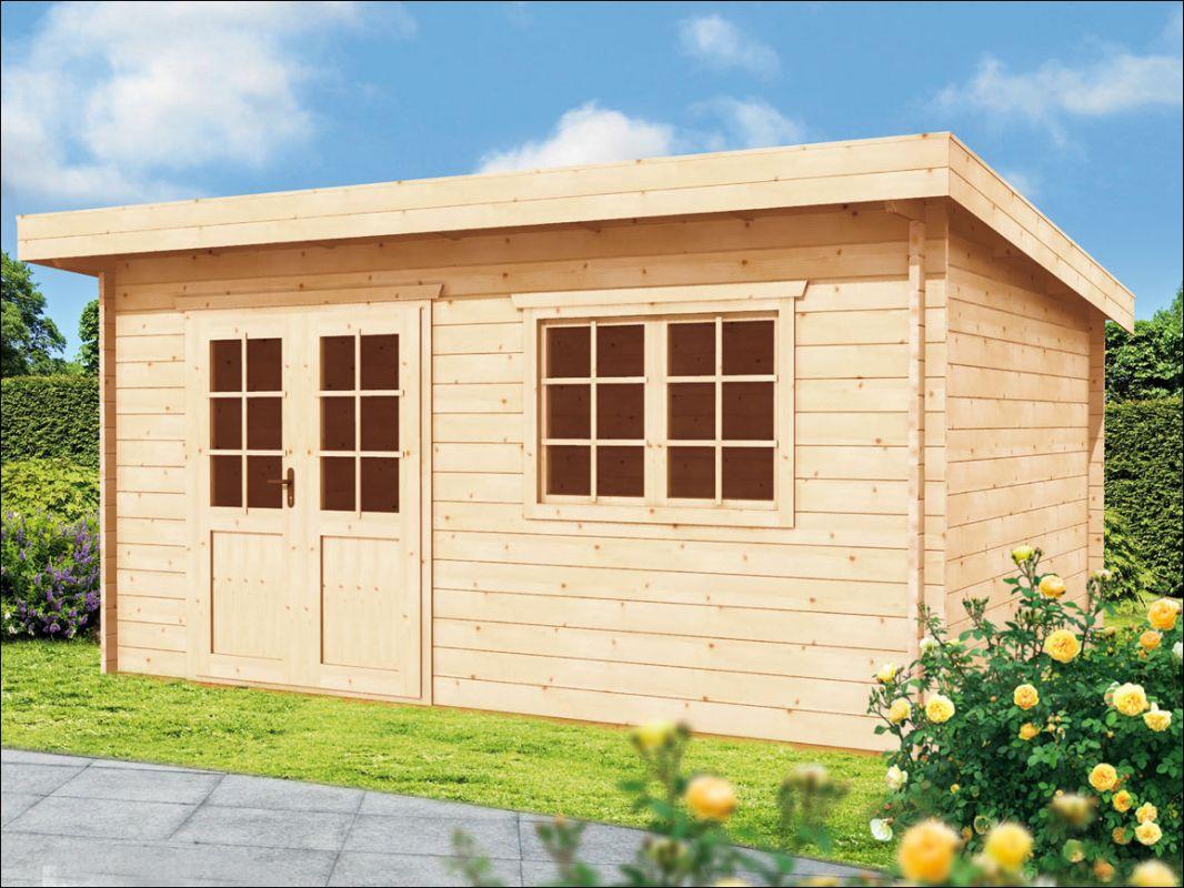 Dřevěná zahradní chatka Marie B