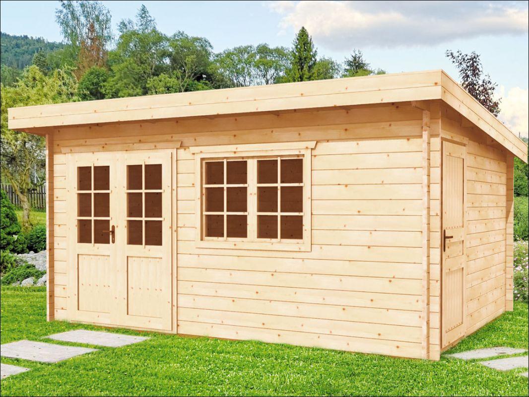 Dřevěná zahradní chatka Alena
